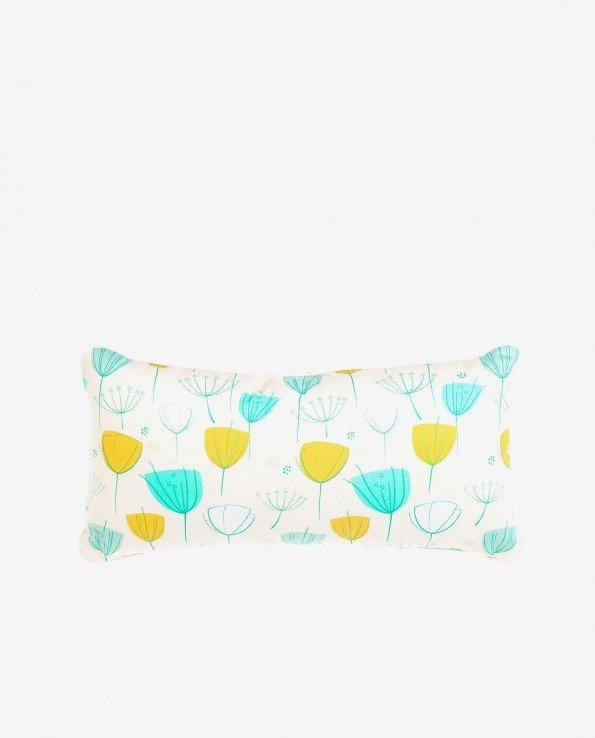 Прямоугольная декоративная подушка из хлопка