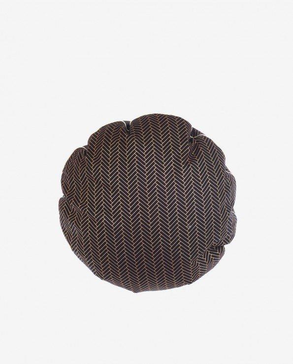 Декоративный пуф-подушка