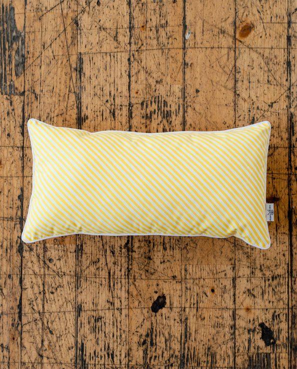 Декоративная подушка «Лимонные паруса»