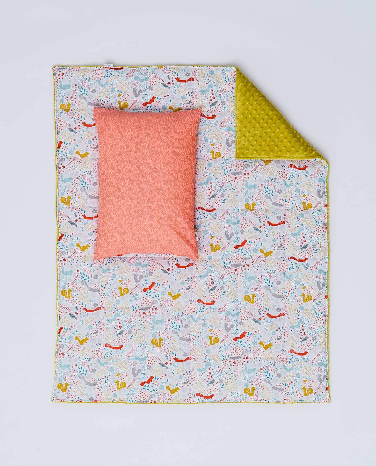 Детский постельный комплект «Белочки»