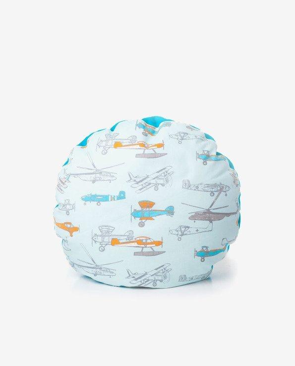 Пуф-подушка для детской комнаты