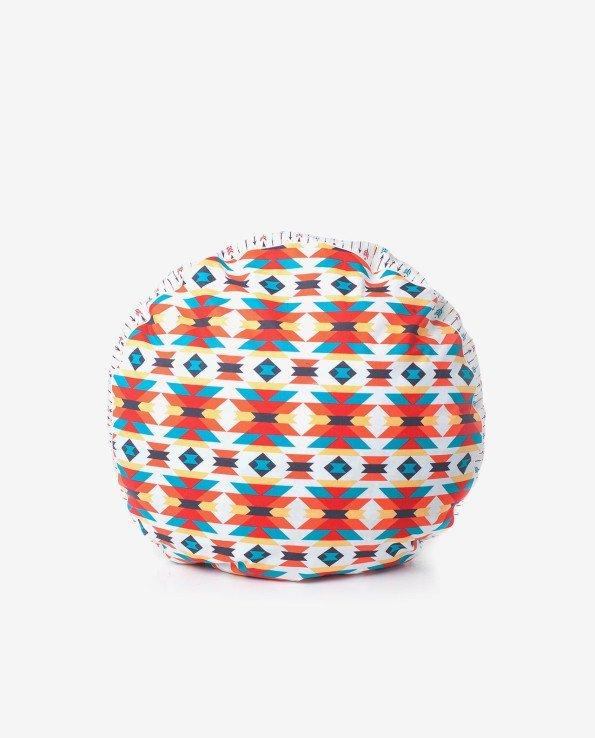 Пуфик-подушка из ткани