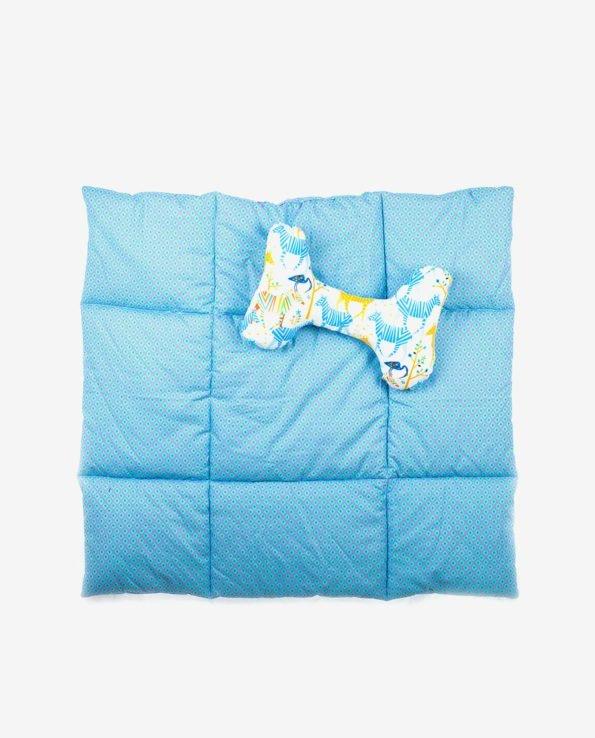 Матрас и подушка для игр