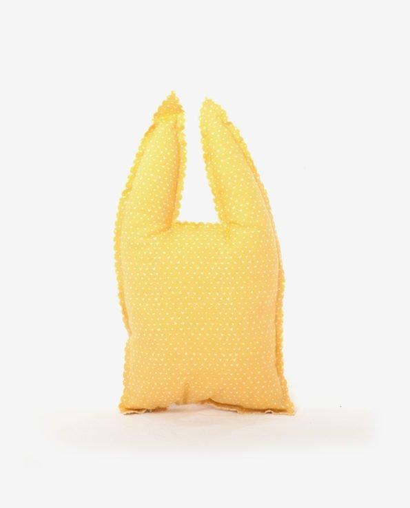 Декоративная подушка для игр в форме зайки