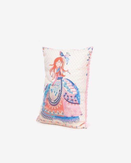 Декоративная подушка для маленьких принцесс (вид сбоку)