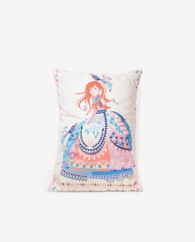 Прямоугольная подушка для принцесс