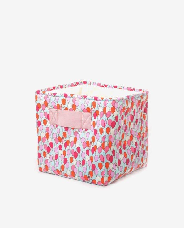 Корзина для игрушек из плотной ткани