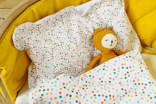 Постельный комплект «Радужный горошек»