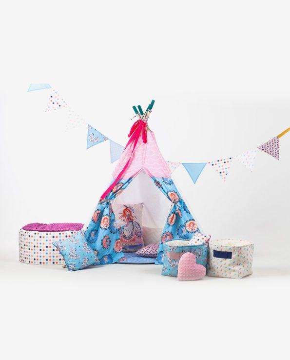 Детский вигвам-палатка для девочек