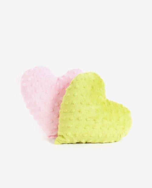 Подушечка-сердечко — Салатовый