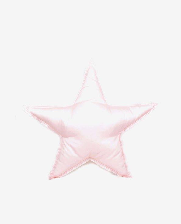 Блекло-розовая звездочка