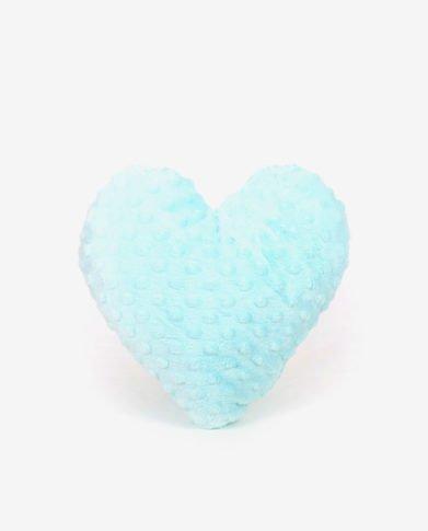 Подушка-сердечко из плюша