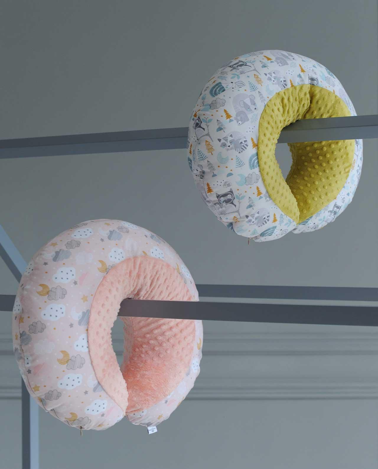 Подушки для кормления «Розовые сны» и «Совушки»