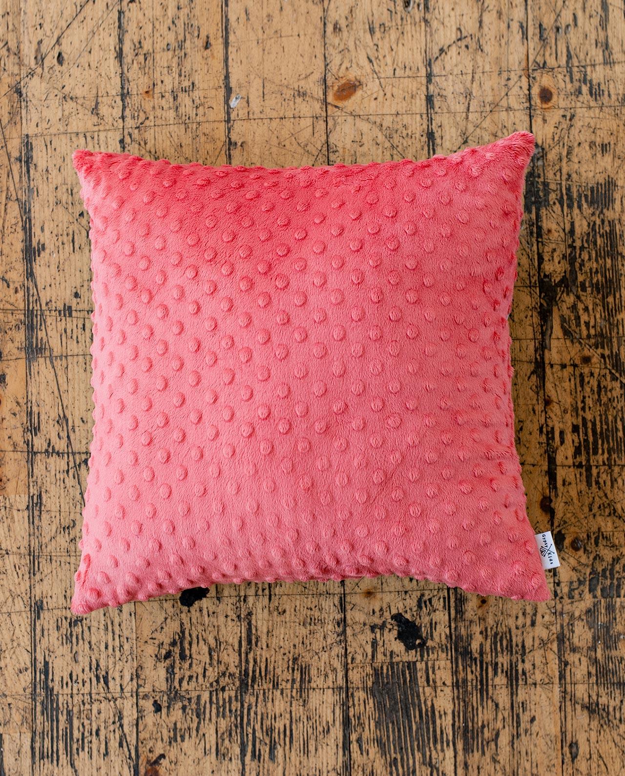 Плюшевая декоративная подушка «Нектарин»