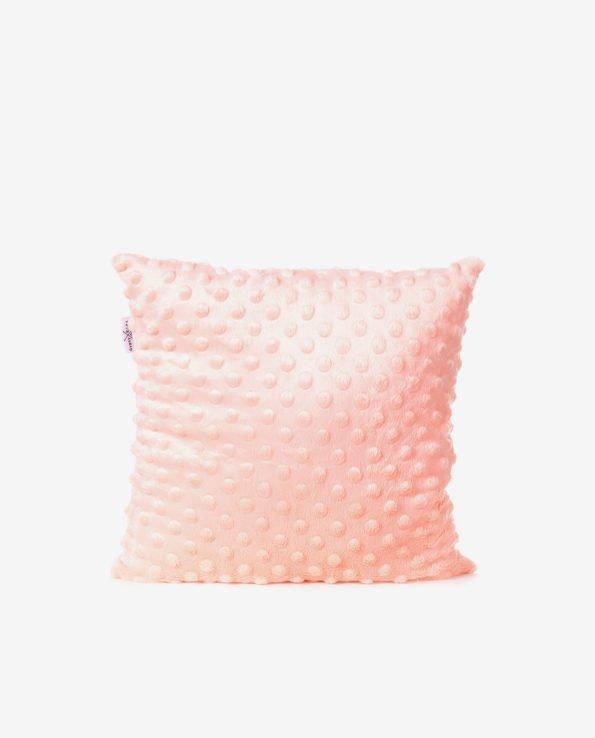 Двусторонняя декоративная подушка «Персиковые стрелочки»