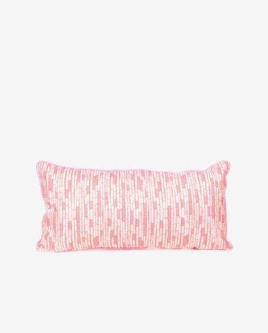 Прямоугольная подушечка «Розовый Бамбук»