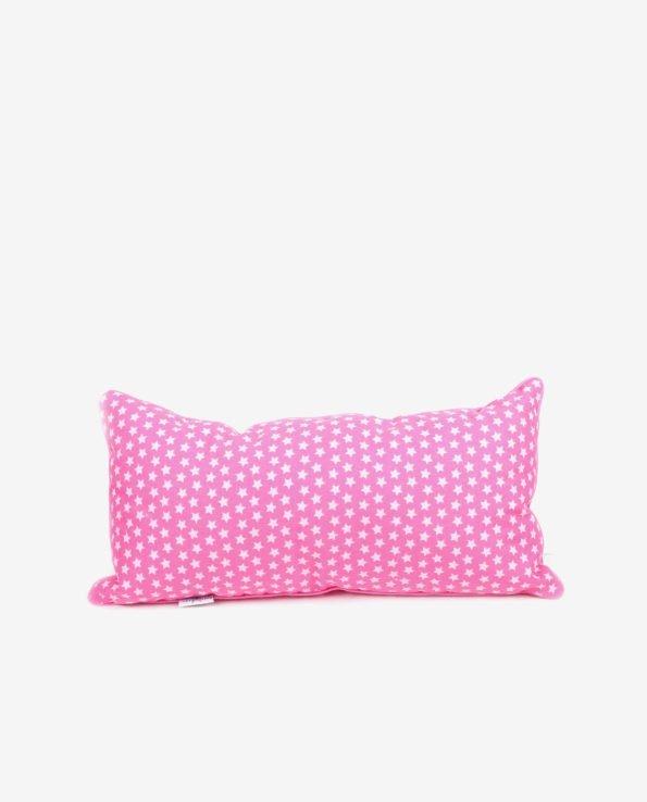 Прямоугольная декоративная подушка, розовая