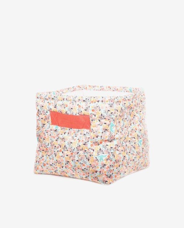 Корзина для игрушек из ткани