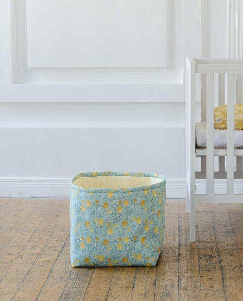 Тканевая корзина для игрушек «Ботаника»