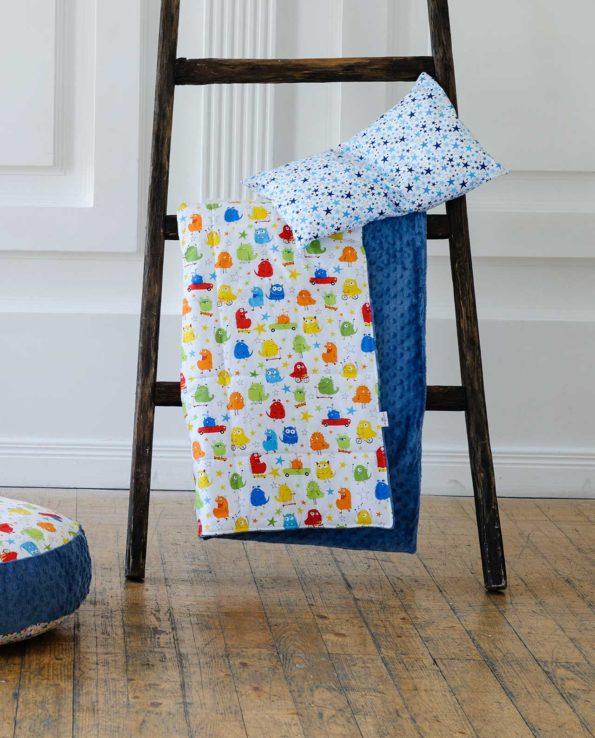 Комплект детского постельного белья с монстриками
