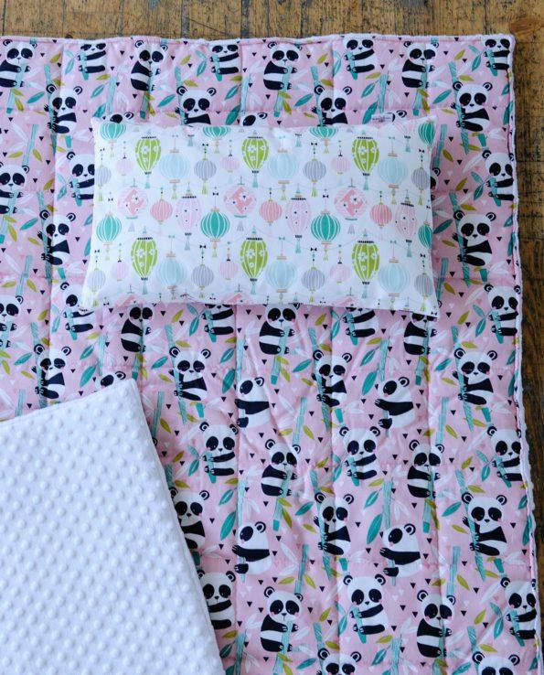 Комплект постельного белья для детей с пандами