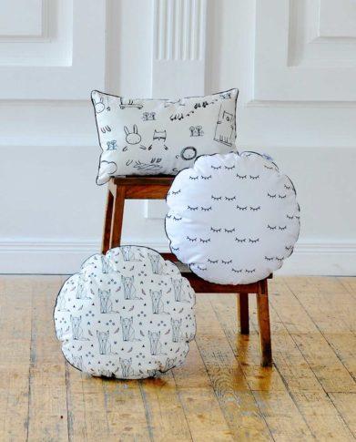 Коллекция декоративных подушек «Веселые зверушки»