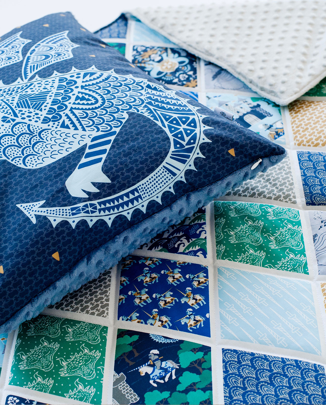 Подушка и одеяло - комплект «Отважный принц»