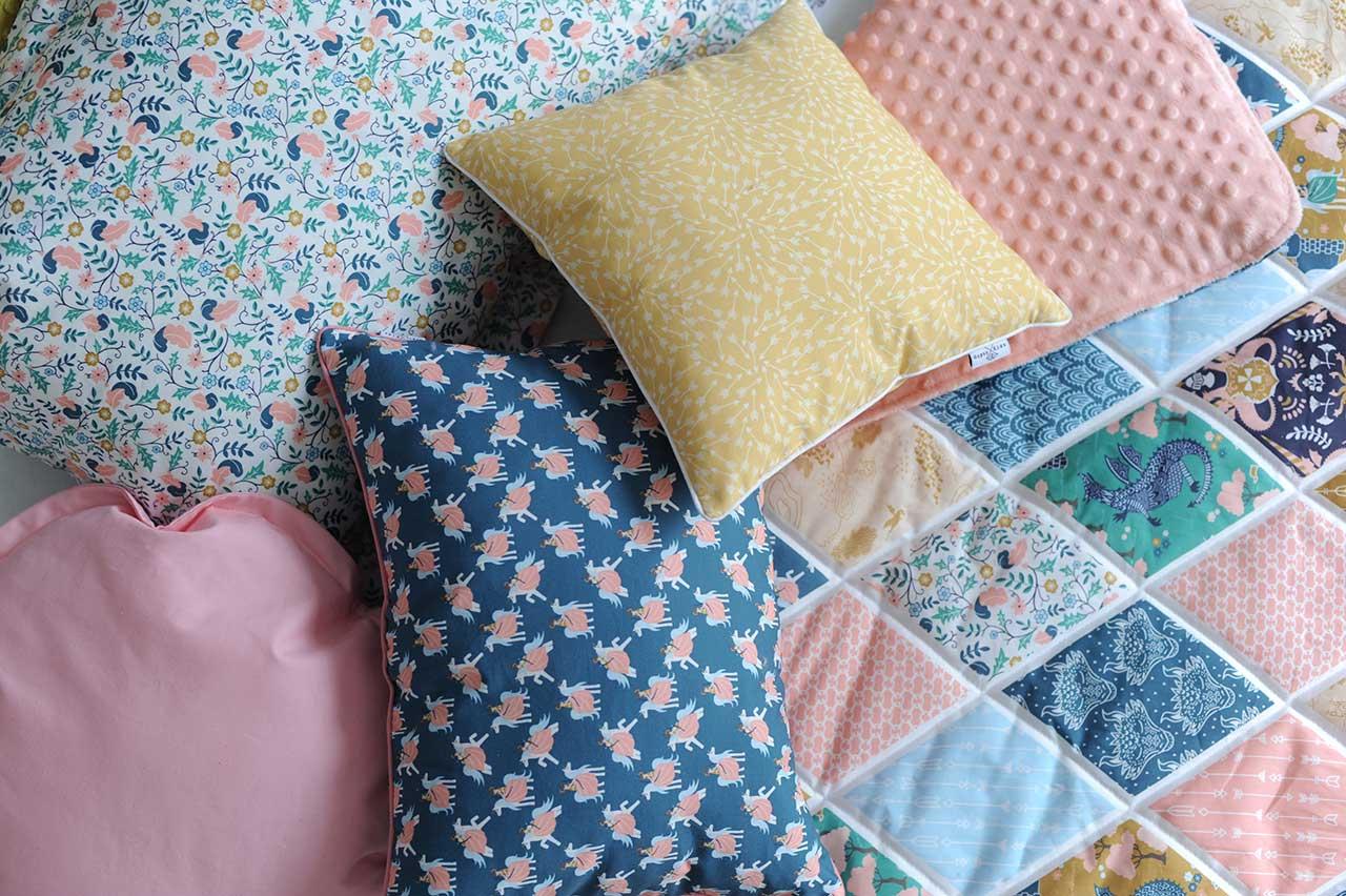 Детский постельный комплект для девочки «Королевство»