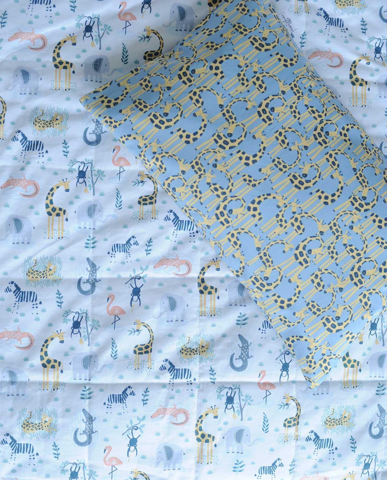 Детский постельный комплект «Сафари»