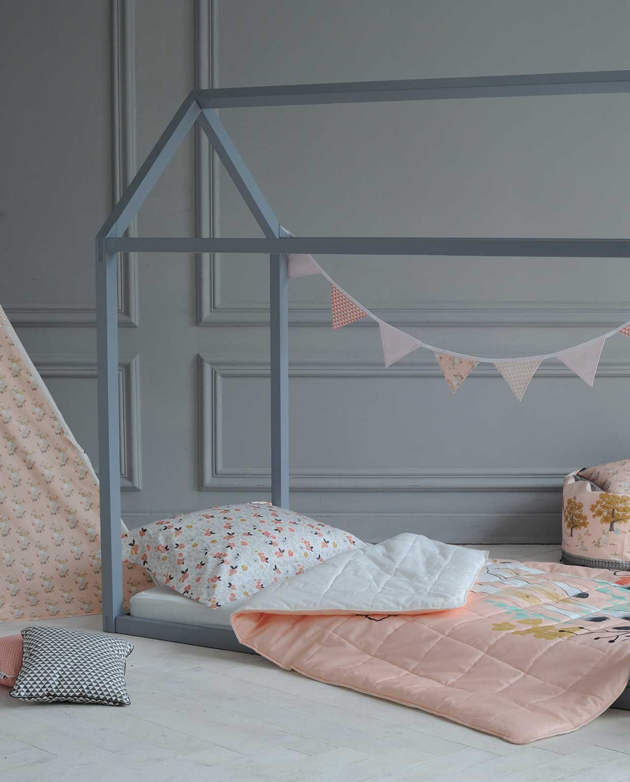 Комплект детского постельного белья «Бемби: Peach»