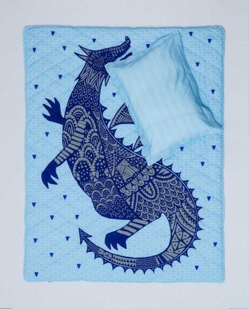 Детский постельный комплект для мальчика «Дракон»