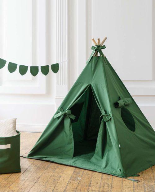 Зеленый вигвам для малышей «Стокгольм»