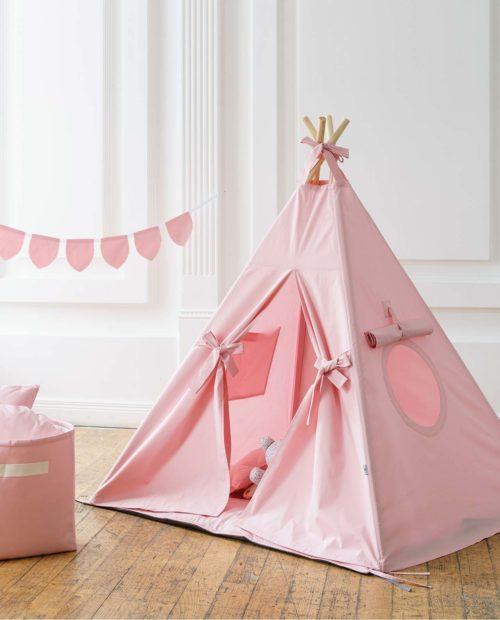 Розовый вигвам для девочки «Милан»