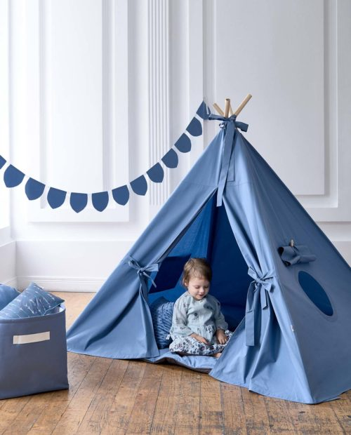 Большой вигвам для детей «Сидней» (цвет голубой)