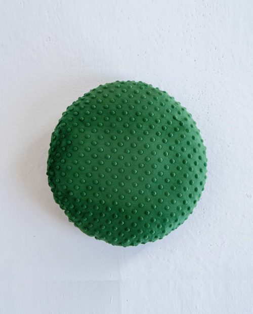 Декоративная круглая подушечка «Minky».