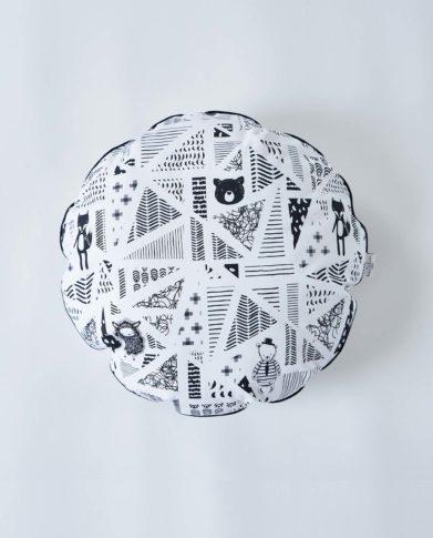 Круглая подушечка «Мишки»
