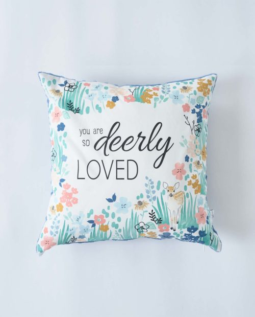 Подушка «You are so deerly loved»