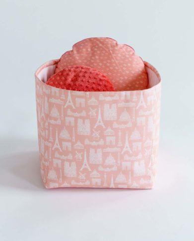 Корзинка для игрушек «Париж — Peach»