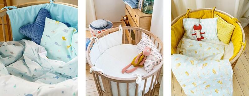 Бортики для детских кроваток