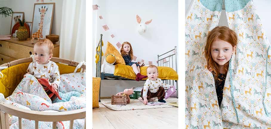 Интерьере детской комнаты